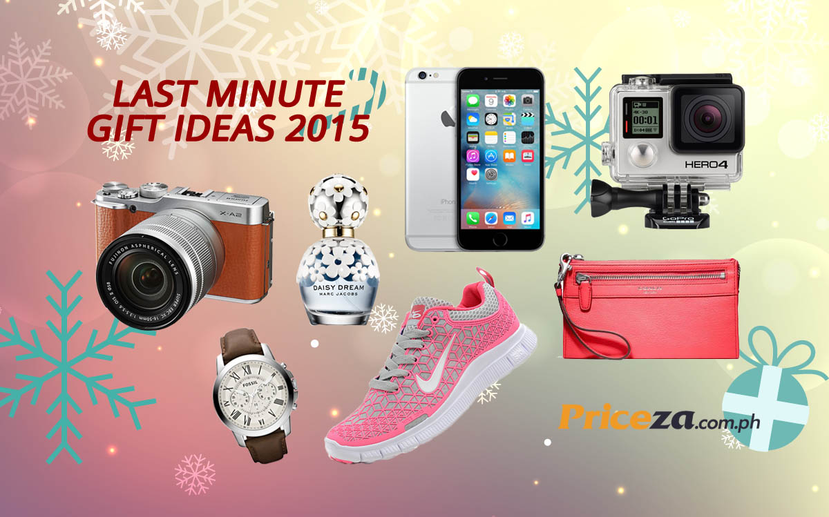 Last Minute Gift Ideas for Christmas and New Year 2015-16