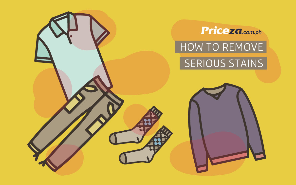 How to Remove Serious Stains From Your Clothes