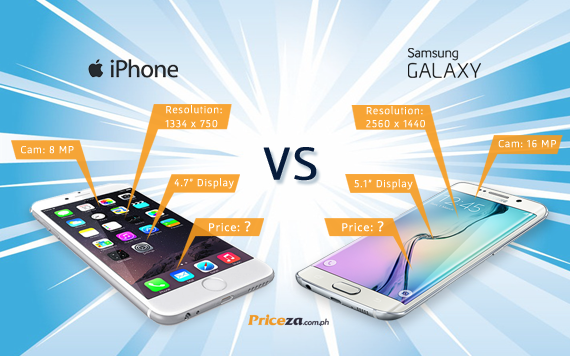 Galaxy S6 & S6 Edge VS iPhone 6 & 6 Plus